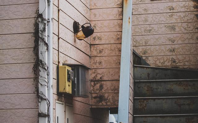 大阪市内の恐怖の激安ラブホテル402号室の画像
