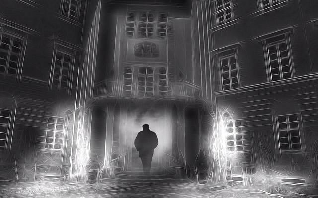 夜中に隣のアパートからしらない男の声で呼ばれる恐怖体験の画像