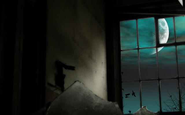 ある特定の部屋のあるベッドにのみその女の子は出没の画像